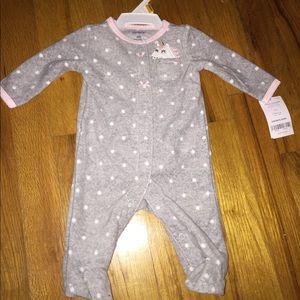 NWT Newborn Carter's sleeper